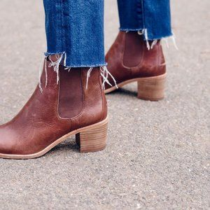 """madewell """"frankie"""" chelsea boots"""
